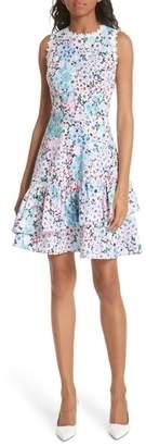 Kate Spade daisy garden stretch cotton poplin dress