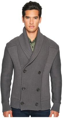 Vince - Solid Double-Breasted Cardigan Coat Men's Sweater $525 thestylecure.com