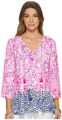 Lilly Pulitzer Marilina Top Women's Clothing