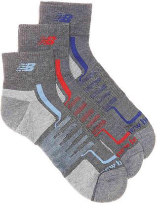 New Balance Performance Ankle Socks - 3 Pack - Men's