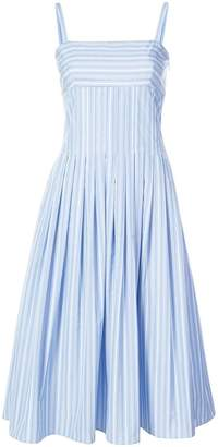 Rosetta Getty pleated camisole dress