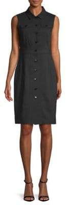 Calvin Klein Collared Sheath Dress