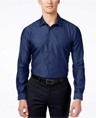 INC International Concepts I.N.C. Men's Blake Long-Sleeve Non-Iron Shirt, Created for Macy's