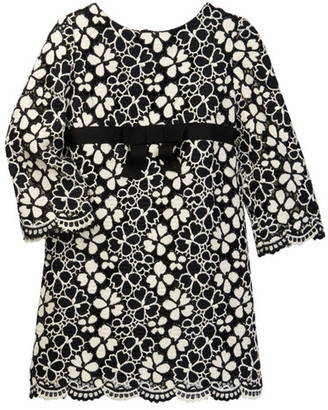 Milly Minis Lily Lace Dress (Toddler & Little Girls) $225 thestylecure.com