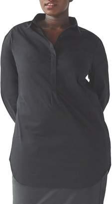 Universal Standard Elbe Tunic Shirt