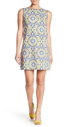 Betsey Johnson Printed Cotton Shift Dress