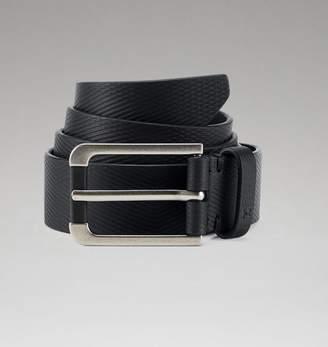 Under Armour UA Mens Debossed Leather Belt