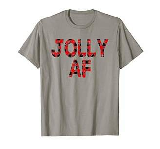 Buffalo David Bitton Jolly AF Plaid Christmas Shirt