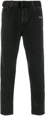 Off-White straight leg jeans