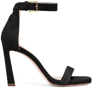 bd03118314b Stuart Weitzman Black Suede Women s Sandals - ShopStyle