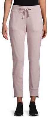 Calvin Klein High-Low Knit Jogger Pants
