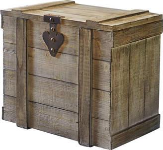 Trunks August Grove Blakeney Small Wooden Home Chest