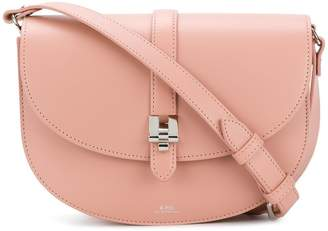 A.P.C. round shape shoulder bag