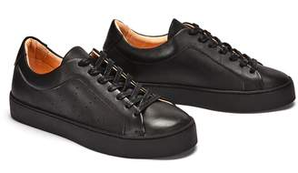 Gracia Nine To Five Laced Sneaker Black Star