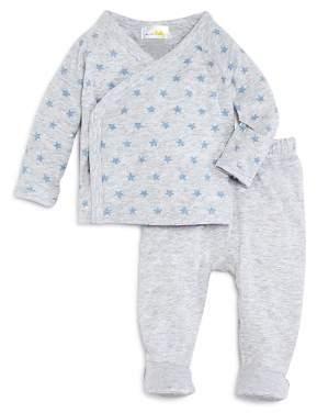 Bloomingdale's Bloomie's Boys' Take Me Home Star-Print Top, Footie Pants & Hat Set - Baby