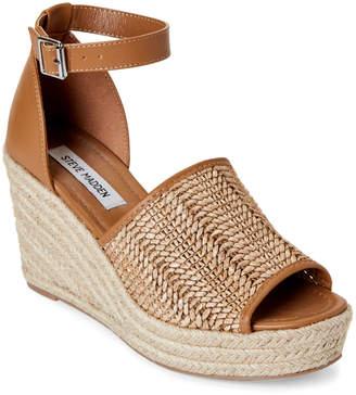 ae5775186a5 Cognac Leather Platform Steve Madden Shoes - ShopStyle