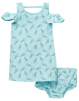 Jessica Simpson Ice Cream Dress & Bloomers Set (Baby Girls)