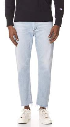 A Gold E Agolde AGOLDE Cut Off Hero Jeans