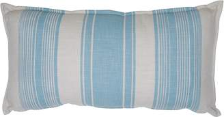 LS Collections Sole Striped Cushion, BlueC