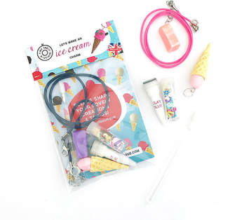 Tiny Treat Boutique Ice Cream Themed Mini Jewellery Craft Kit