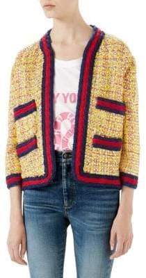 Gucci Multi-Color Tweed Jacket
