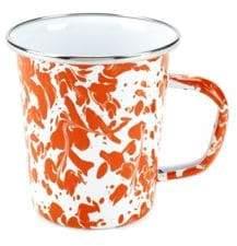 Golden Rabbit Patterned Latte Mug