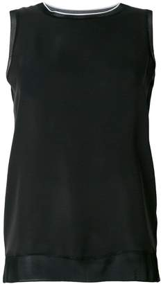 Theory round neck tank top