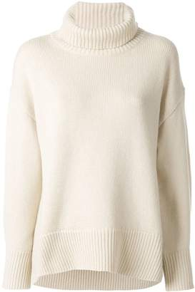 Joseph turtleneck loose-fit jumper