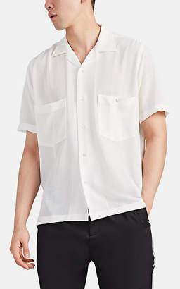 Cmmn Swdn Men's Dexter Gauze Button-Front Short-Sleeve Shirt - White