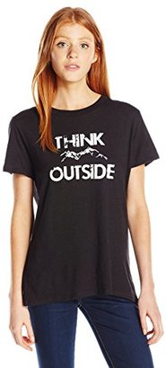 Sub_Urban RIOT Women's Think Outside Loose Fit Graphic Tee $44 thestylecure.com