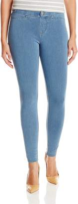 Hue Women's Plus Size Super Smooth Denim Leggings