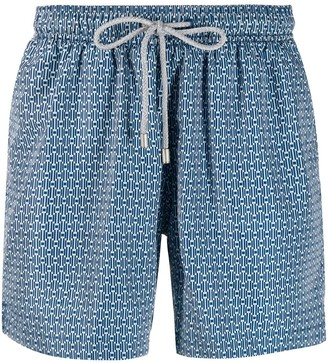 Bluemint Peacot printed swim shorts