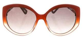 Christian Dior Extase 1 Oversize Sunglasses