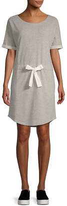 Saks Fifth Avenue Women's Tie Waist Terry Dress
