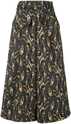 Schumacher Dorothee A-line monkeys skirt