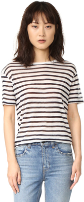 T by Alexander Wang Stripe Tee $110 thestylecure.com