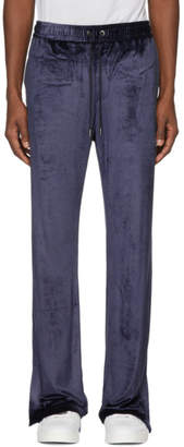 Versace Navy Chenille Lounge Pants