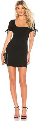 About Us Olivia Tie Sleeve Dress