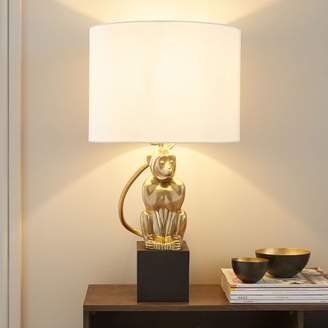 west elm Perched Monkey Table Lamp