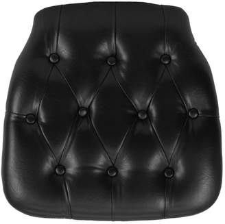 Flash Furniture Hard Tufted Vinyl Chiavari Chair Cushion