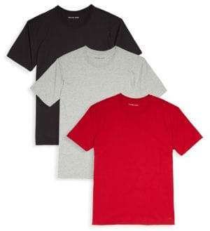 Michael Kors Three-Pack Performance Cotton Tees