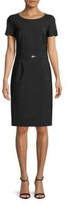 HUGO Karien Wool Sheath Dress