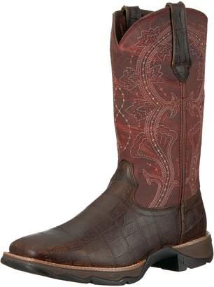 Durango Women's DRD0147 Western Boot Brown/Fuchsia 9 M US