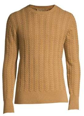 Burberry Core Cashmere Cable Knit Sweater