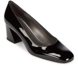 0d8461d9da01 Stuart Weitzman Black Block Heel Pumps - ShopStyle