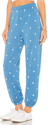 Wildfox Couture Football Star Easy Sweat Pant
