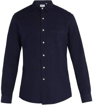 THORSUN Seersucker cotton long-sleeve shirt