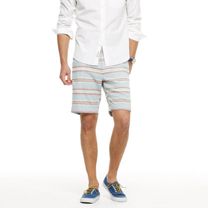 J.Crew Stanton short in yarn-dyed stripe