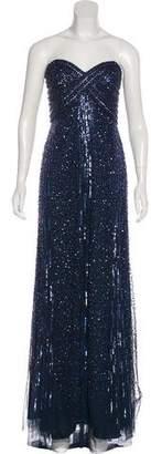 Alberto Makali Embellished Evening Dress