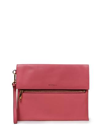 Modalu Erin Soft Grain Leather Clutch Bag